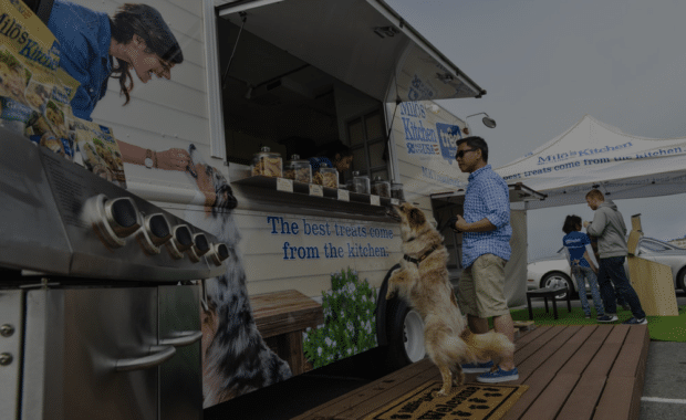 Gour-mutts Unite for Doggy Food Truck