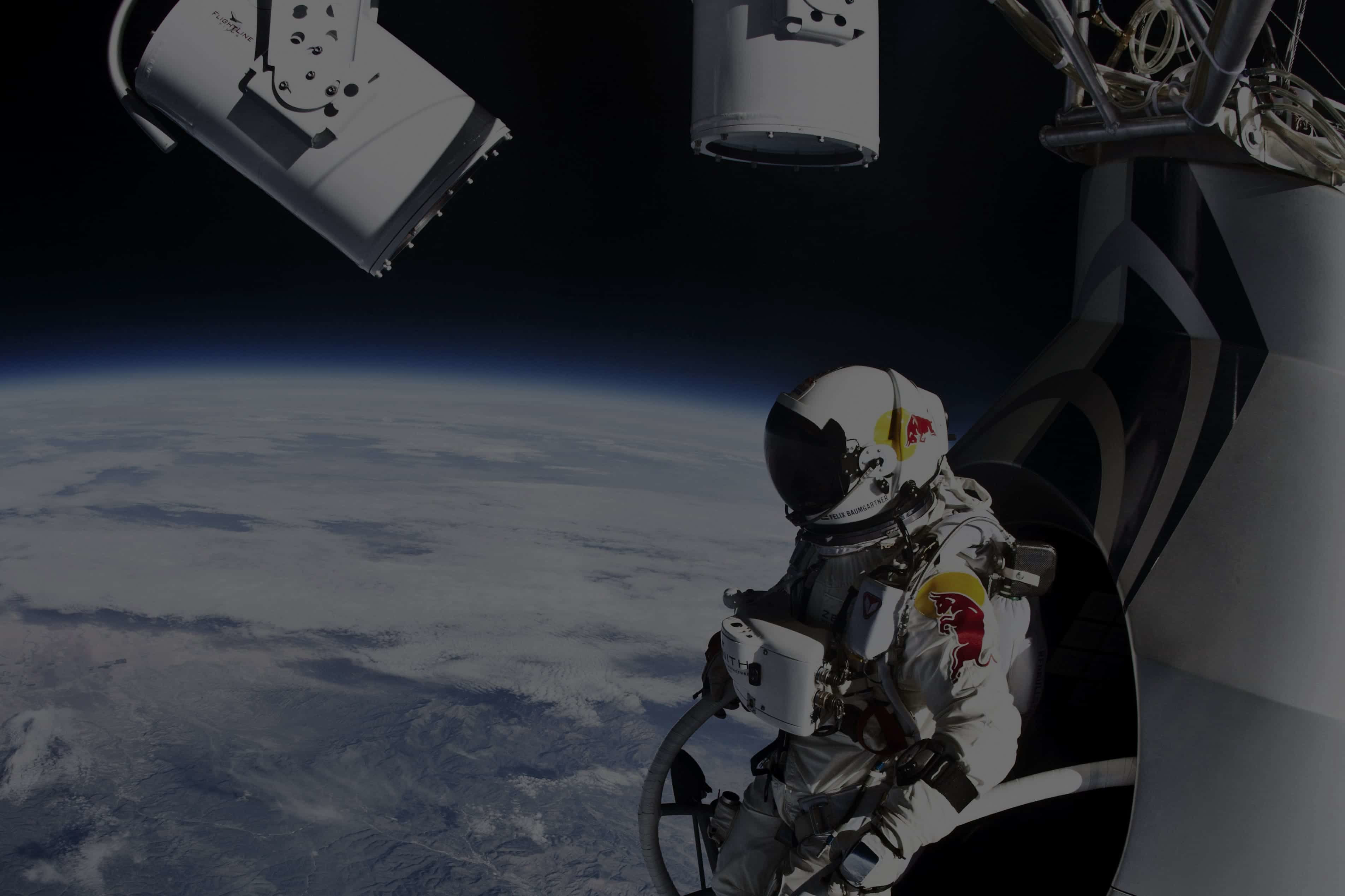 How Red Bull's 'Stratos' Space Jump Made Headlines From 120,000 Feet